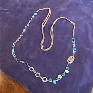 Silpada Turquoise, and Sterling Silver Necklace
